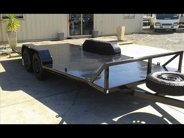 2017  mcneill flat bed trailer