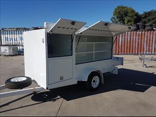 One new Mcneill Enclosed Pantec Trailer