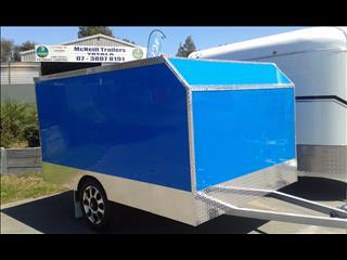 new 2015 enclosed bike trailer