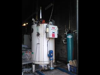 Gas/diesel  steam boiler