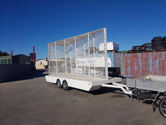 2011 st fabrication sign  board trailer
