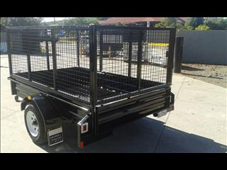 2400*1500 single axle mcneill cage trailer