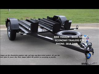 Motor Bike TRAILER- 3 track-  basic model