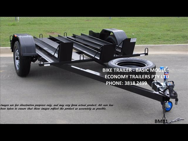 Motor Bike TRAILER- 3 track-  basic model