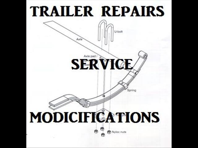 BOX  TRAILER REPAIRS