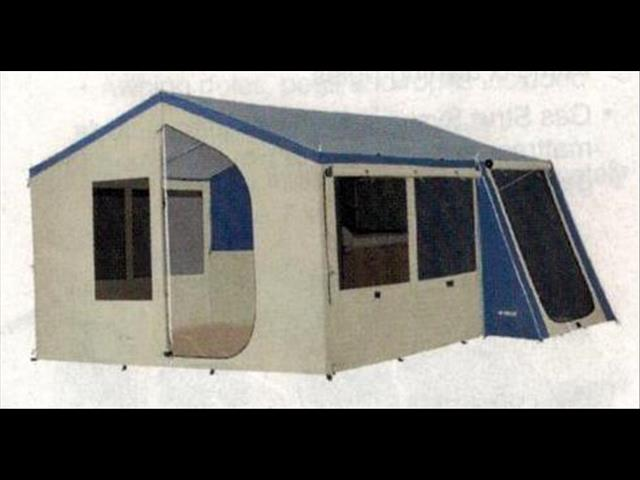 Oztrailer Camper 8 , Easy to Tow