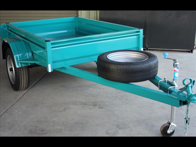 6 x4  box trailer- Great value Aussie built.