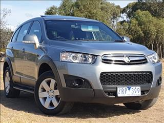2013 HOLDEN CAPTIVA 7 SX (FWD) CG MY12 4D WAGON