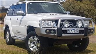2012 NISSAN PATROL SIMPSON 50TH ANN EDITION GU VIII 4D WAGON