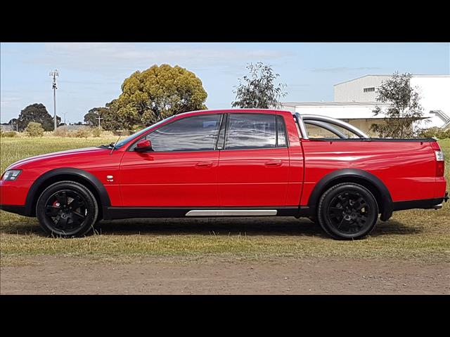 2004 HOLDEN CREWMAN CROSS 8 VYII CREW CAB UTILITY