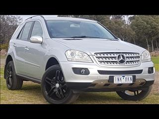 2008 MERCEDES-BENZ ML 280 CDI LUXURY (4x4) W164 08 UPGRADE 4D WAGON