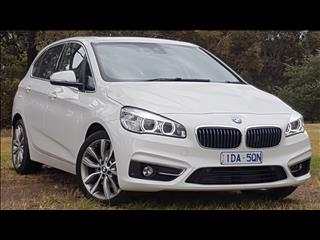 2015 BMW 2 18i ACTIVE TOURER LUXURY LINE F45 4D WAGON