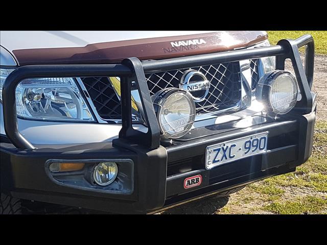 2013 NISSAN NAVARA ST-X 550 (4x4) D40 MY12 DUAL CAB UTILITY