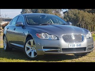 2010 JAGUAR XF 3.0 V6 LUXURY MY10 4D SEDAN