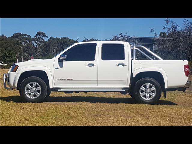 2011 HOLDEN COLORADO LT-R (4x4) RC MY11 CREW CAB P/UP