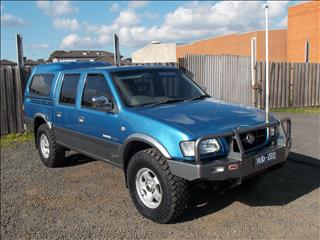 2002 HOLDEN RODEO LT SPORT (4x4) TFR9 CREW CAB P/UP
