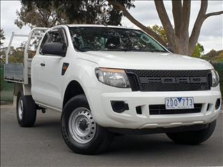 2012 FORD RANGER XL 3.2 (4x4) PX SUPER C/CHAS