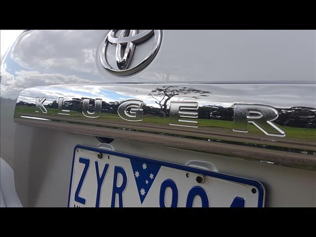 2013 TOYOTA KLUGER KX-R (FWD) 7 SEAT GSU40R MY13 UPGRADE 4D WAGON