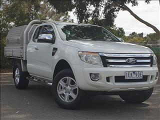 2014 FORD RANGER XLT 3.2 HI-RIDER (4x2) PX SUPER CAB PICK UP
