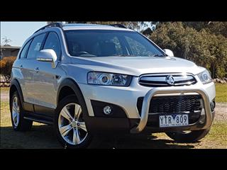 2011 HOLDEN CAPTIVA 7 CX (4x4) CG SERIES II 4D WAGON