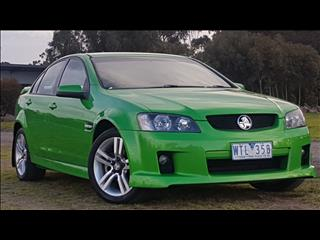 2008 HOLDEN COMMODORE SV6 VE MY08 4D SEDAN