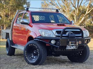 2010 TOYOTA HILUX SR5 (4x4) KUN26R 09 UPGRADE DUAL CAB P/UP