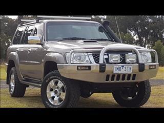 2009 NISSAN PATROL ST-L (4x4) GU VI 4D WAGON