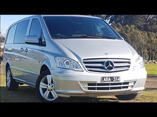 2011 MERCEDES-BENZ VITO 122CDI LWB CREW CAB MY11 4D VAN