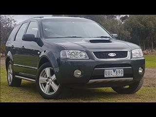 2007 FORD TERRITORY GHIA TURBO (4x4) SY MY07 UPGRADE 4D WAGON
