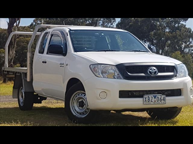 2009 TOYOTA HILUX SR GGN15R 09 UPGRADE X CAB P/UP