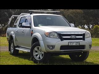 2009 FORD RANGER XLT (4x4) PK DUAL CAB P/UP
