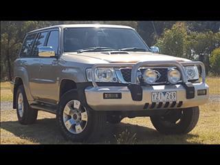 2005 NISSAN PATROL ST (4x4) GU IV 4D WAGON