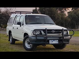 2003 TOYOTA HILUX RZN149R DUAL CAB P/UP