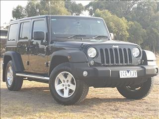 2014 JEEP WRANGLER UNLIMITED SPORT (4x4) JK MY13 4D SOFTTOP