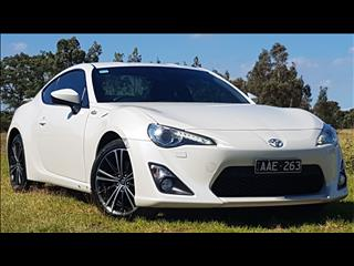 2013 TOYOTA 86 GTS ZN6 2D COUPE