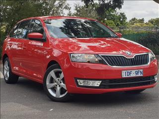 2015 SKODA RAPID SPACEBACK AMBITION 90 TSI NH MY15 4D WAGON