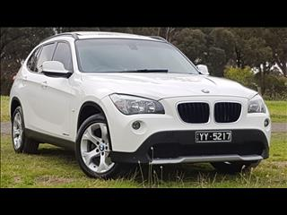 2010 BMW X1 sDRIVE 20d E84 4D WAGON