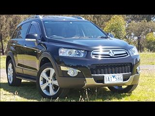 2013 HOLDEN CAPTIVA 7 LX (4x4) CG MY13 4D WAGON
