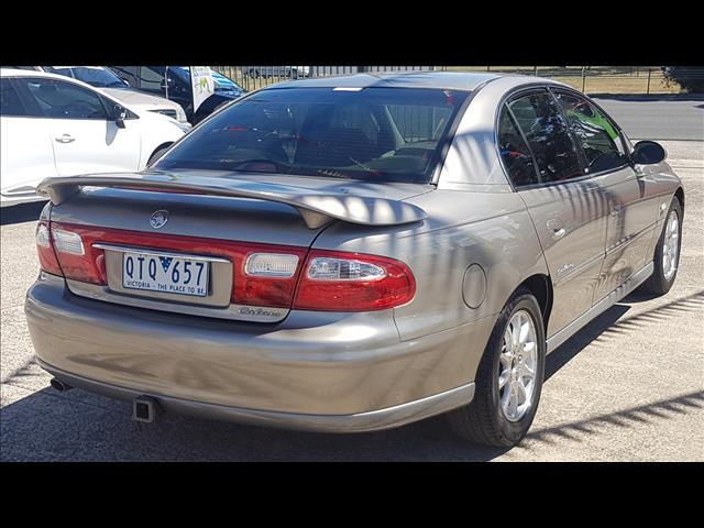 2001 HOLDEN CALAIS VX 4D SEDAN