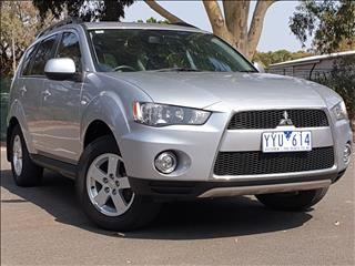 2012 MITSUBISHI OUTLANDER PLATINUM EDITION ZH MY12 4D WAGON