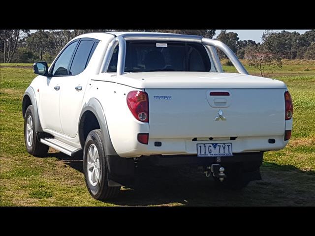 2008 MITSUBISHI TRITON GLX-R (4x4) ML MY08 DOUBLE CAB UTILITY