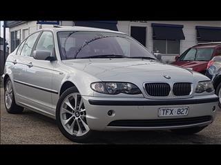 2004 BMW 3 20i EXECUTIVE E46 4D SEDAN