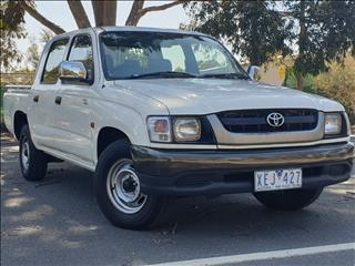 2004 TOYOTA HILUX LN147R DUAL CAB P/UP