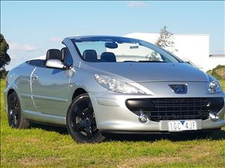 2009 PEUGEOT 307 CC DYNAMIC MY06 UPGRADE 2D CABRIOLET