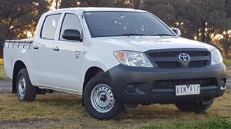2007 TOYOTA HILUX WORKMATE TGN16R 07 UPGRADE DUAL CAB P/UP