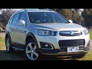 2014 HOLDEN CAPTIVA 7 LTZ (AWD) CG MY14 4D WAGON