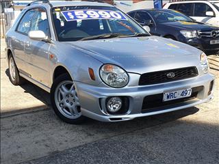 2002 SUBARU IMPREZA GX (AWD) MY03 5D HATCHBACK