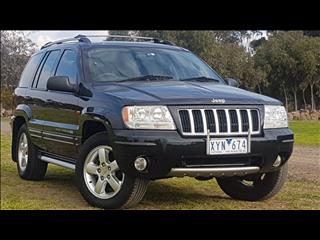 2004 JEEP GRAND CHEROKEE LIMITED VISION SERIES WG 4D WAGON