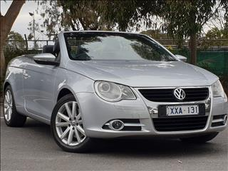 2010 VOLKSWAGEN EOS 147 TSI 1F MY09 UPGRADE 2D CONVERTIBLE