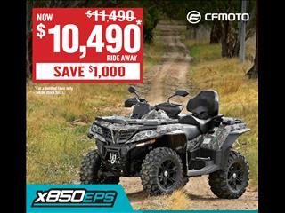 2017 CF MOTO X8 800CC ATV